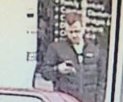 Police want to speak to this man in connection with the incident.