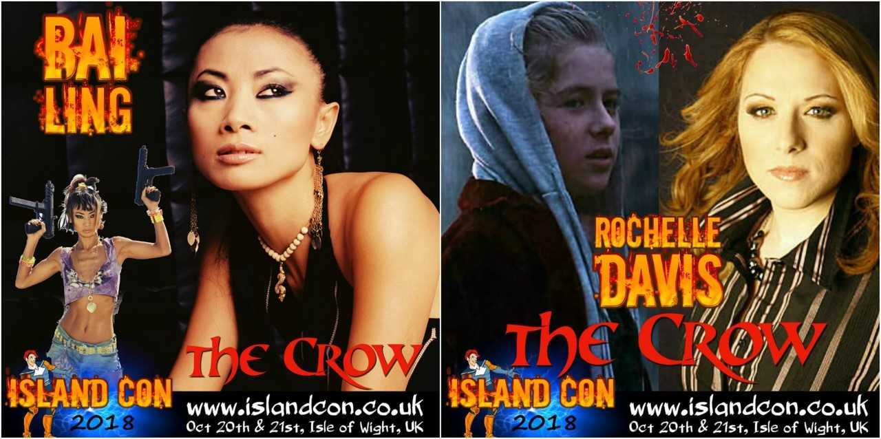Rochelle Davis and Bae Ling will attend this year's Island Con.