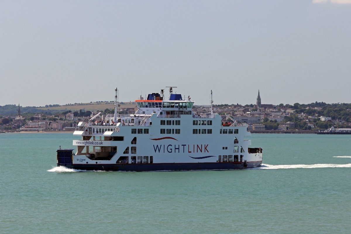Wightlink has cancelled a number of crossings on its Fishbourne to Portsmouth route.