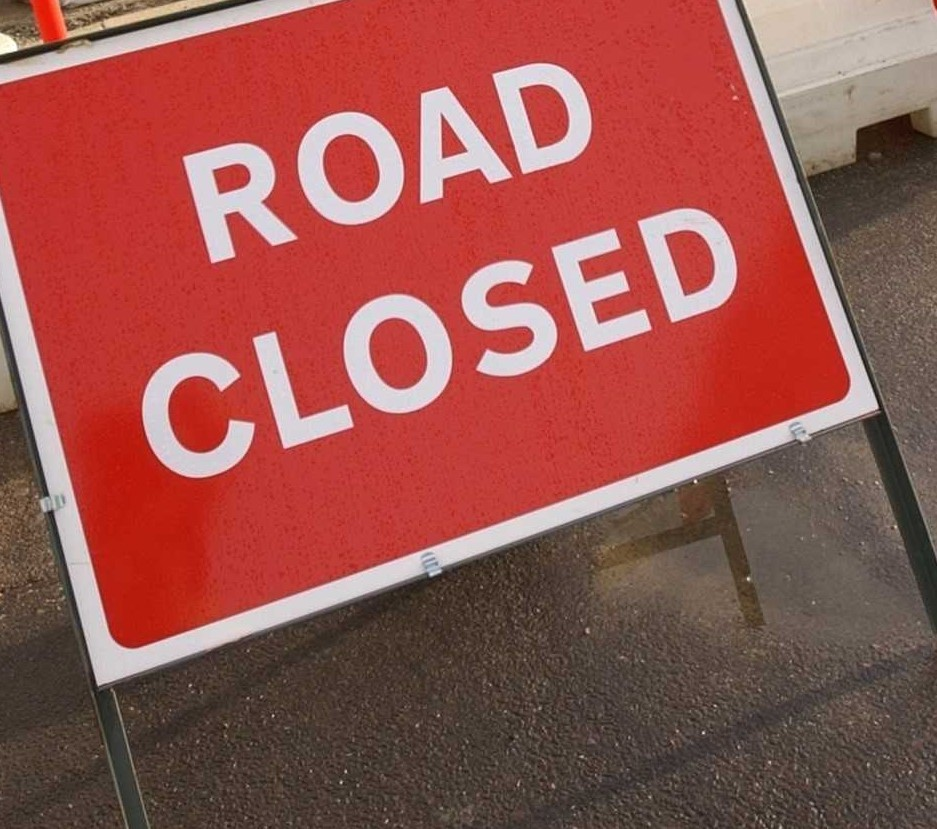 Whitwell Road, Ventnor, closed