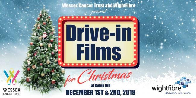 drive in films for christmas for the wessex cancer trust