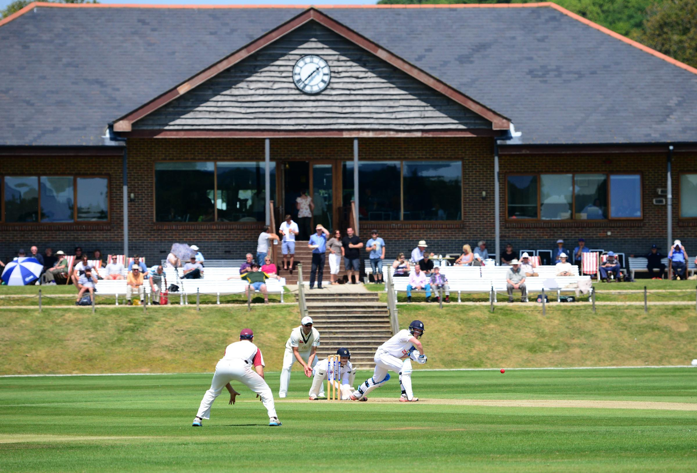 Newclose County Cricket Ground in Newport will be hosting the first County Championship match on the island for 57 years.  FILE