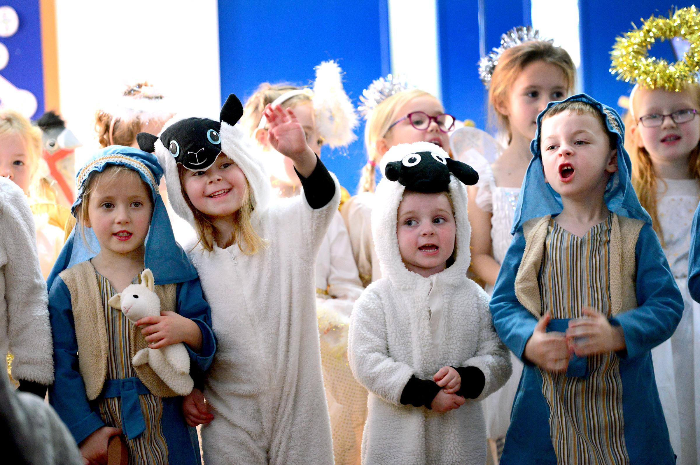 Can you spot your little angel? Pictures of nativity plays at Isle of Wight schools